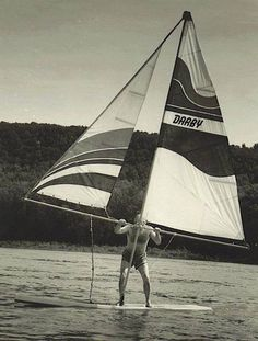 #windsurfing in the early days