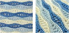 This stunning crocheted wave stitch will make your crochet articles more captivating and enthralling! Get the FREE crochet pattern for this amazing . Crochet Wave Pattern, Crochet Stitches Patterns, Crochet Shawl, Stitch Patterns, Knit Crochet, Sewing Patterns, Crochet Blankets, Crochet Afghans, Free Pattern
