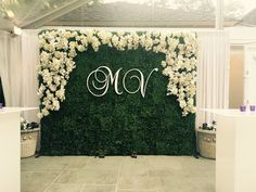 Some day this would be perfect Engagement Stage Decoration, Wedding Reception Backdrop, Wedding Aisle Decorations, Backdrop Decorations, Desi Wedding Decor, Luxury Wedding Decor, Wedding Photo Walls, Flower Wall Wedding, Floral Backdrop