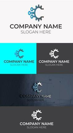 tech logo template Free Logo Templates, Great Logos, Company Names, Tech Logos, Slogan, Mockup, How To Memorize Things, Logo Design, Business Names