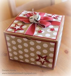 the decoration on the top doesn't interfere with opening the box, nice for friends with arthritis