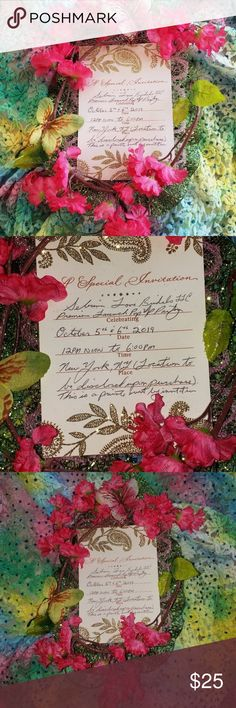 1bd5d91a74 $25 Invitation/Sebrina Love Bridals Launch Party This $25 invitation serves  as an admission ticket