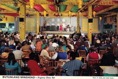 The Regency Show Bar at Butlin's Minehead Holiday Camp in Family Memories, Best Memories, Vintage Postcards, Vintage Images, Butlins Holidays, Show Bar, British Holidays, British Seaside, Great British