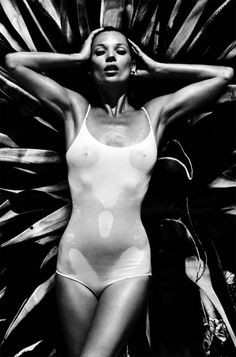 Kate Moss Vogue Paris Supermodel Calendar 2013 #summer #blackandwhite
