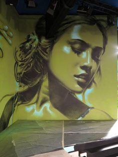 El Mac – In The Heart of The Multitude New Murals @ Prada SS14