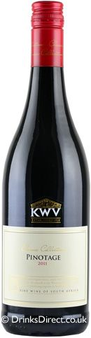 KWV Pinotage Red - Buy Online at DrinksDirect.co.uk