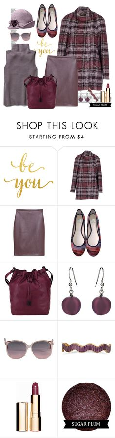 """""""Be You, Sugar Plum !!"""" by kateo ❤ liked on Polyvore featuring Gigue, MANGO, M Missoni, Elliott Lucca, Martick, BillyTheTree, Clarins, women's clothing, women and female"""