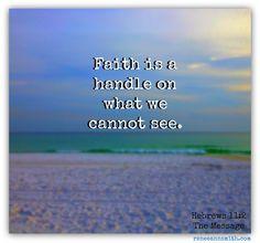 My Faith Handle   Doorkeeper #faith #hope #trust