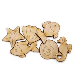 Favorite Findings Buttons- Under The Sea 6/pk & craft & packs of buttons at Joann.com $2.79