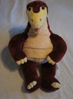 """Build a Bear Maroon Stegosaurus Dinosaur 19/"""" Plush"""