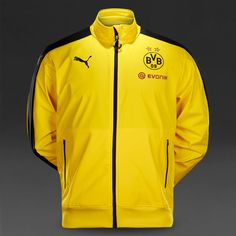 Borussia Dortmund 2015/16 Yellow Men Training Jacket