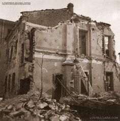 Dupnitsa, damage from Allied bombing , January 1944 Bulgaria
