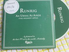 Runrig ‎– An Ubhal As Airde (The Highest Apple) CDCHSDJ5021 UK Promo CD Single