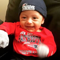 This is my touchdown dance! #LilPatsFans #Patriots