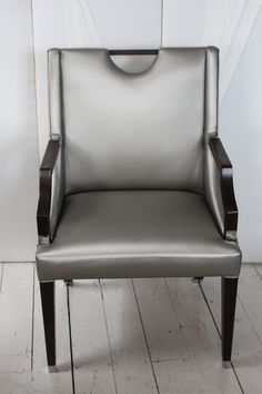 Silver Tipped Dining Chair,