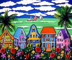 Tropical Beach Houses | Renie Britenbucher