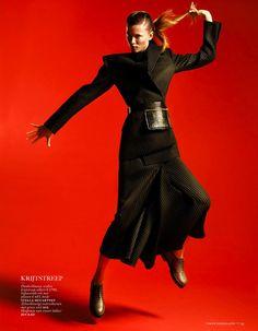 #KasiaStruss by #PhilippeVogelenzang for #VogueNetherlands August 2013
