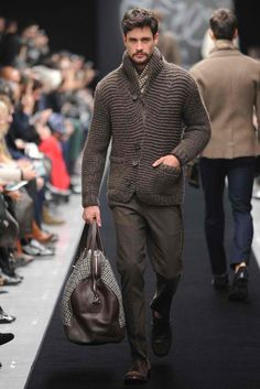 Ermanno Scervino Mens Fall 2012 - is that a murse?