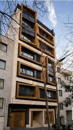 Office Building Architecture, Modern Residential Architecture, Building Facade, Commercial Architecture, Facade Architecture, Bungalow House Design, House Front Design, Brick Facade, Facade House