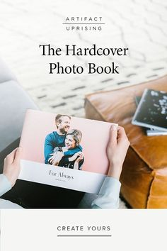 For all those photos you've been meaning to print, the classic Hardcover Photo Book comes in a variety of sizes, fabric colors, and editorial cover designs — starting at $69.