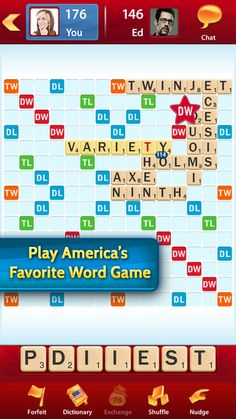 ICATER #AT Tip of the Day: Scrabble app for iOS! practice spelling, build vocabulary and more in English or a variety of other languages!