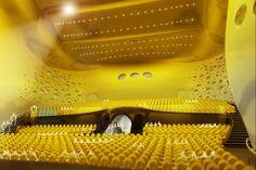 Jan Kaplicky - Concert hall - Interior 1