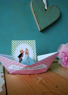 » Trouwkaart ontwerpers delen hun ideeën: wat is hun trouwkaart van het jaar? Deel 7: Studio Klein Geluk » Arnhems Meisje