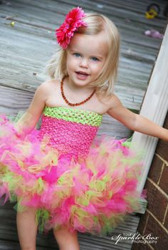Watermelon tutu dress - YourSparkleBox.etsy.com