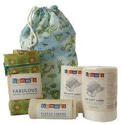 Bummis Cloth Diaper Accessories Kit