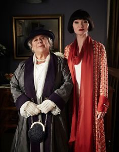 Aunt Prudence & Phryne ~ Miss Fisher's Murder Mysteries
