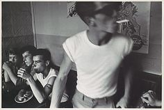 1950's jeans and white t-shirt youth uniform - Brooklyn Gang  Bruce Davidson  (American, born 1933)