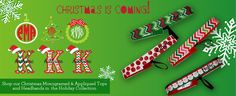 Christmas is coming and we love monograms and appliques!!  www.girlygearshop.com