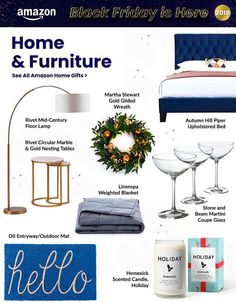 Amazon Black Friday Ad Scan, Deals and Sales 2019 The Amazon 2019 Black Friday ad is here! Be sure to subscribe to our newsletter to receive emails about all the latest Black Friday news and ad leaks ... #blackfriday #amazon Amazon Black Friday, Black Friday Ads, Buy Candles, Fall Candles, Gold Nesting Tables, Friday News, Home Gifts