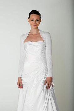 White Shrugs for Weddings