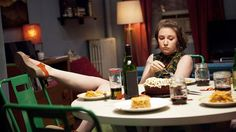 Lena Dunham Really Loves Thanksgiving Stuffing, Because She's a Smart Lady photo