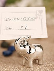 Lucky+in+Love+Lucky+Elephant+Place+Card+Holder+Beter+Gifts+Wedding+Decorations+–+USD+$+7.00