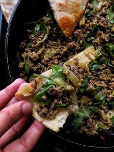 Coriander- garlic minced Beef keema curry-islandsmile.org