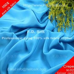 http://www.silkfabricwholesale.com/16mm-silk-crepe-de-chine-fabric-turquoise.html      F.D. silk most professional 16mm silk crepe de chine fabric-turquoise supplier.
