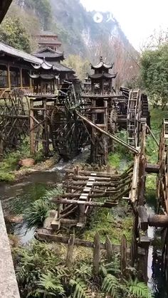 Old Mill #steampunk Zhangjiajie, Nature Images, Environmental Art, Natural Wonders, Beautiful World, Funny Photoshop Pictures, Best Funny Pictures, Funny Pics, Fantasy Art