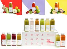 packaging zumos- the juice cleanse