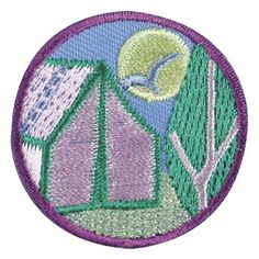 Junior Camper Badge - have some night-time fun. Night Hike Activities - Girl Scouts - hiking