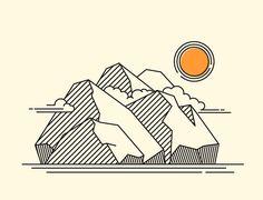 My 20 days Line Illustration Challenge on Behance
