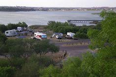 Lake Casa Blanca International State Park - Laredo, Texas = camping, picnic, swimming, boating, mountain biking, fishing, educational & interpretive programs