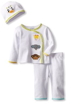 LITTLE ME 100/% COTTON Yellow BABY DUCKS Footie w//Matching Bib UNISEX NWT