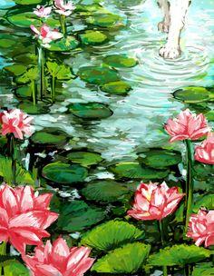 okami-great goddess, amaterasu by ~chupachup on deviantART