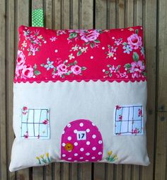 cottage cushion sewing kit by sewgirl | notonthehighstreet.com So cute!