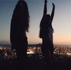 girl, friends, and city resmi