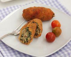 Masa de Croquetas de espinacas y pollo en panificadora   La cocina perfecta