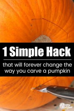Best Pumpkin Carving Hack Ever! This pumpkin carving hack is a total game changer! Youll never carve your pumpkin the same way again! The post Best Pumpkin Carving Hack Ever! appeared first on Halloween Pumpkins. Pumkin Carving Easy, Amazing Pumpkin Carving, Pumpkin Stencil, Pumpkin Carvings, Simple Pumpkin Carving Ideas, Pumpkin Ideas, Carved Pumpkins, Pumpkin Carving With Drill, Pumpkin Carving Games