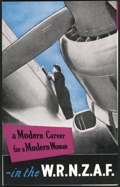 Royal New Zealand Air Force:a Modern Career fora Modern Woman 1955